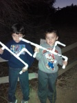 Clark Regional Park - Hike - Marshmallow Shooters in the Night