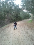 Deer Canyon Park Preserve - Walking Ahead