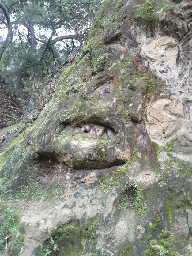 Vanaden Cave Trail - Cave Man Head