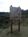 Vanaden Cave Trail - Sign