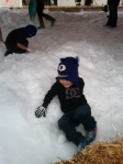 Winter Wonderland - Sliding Boy
